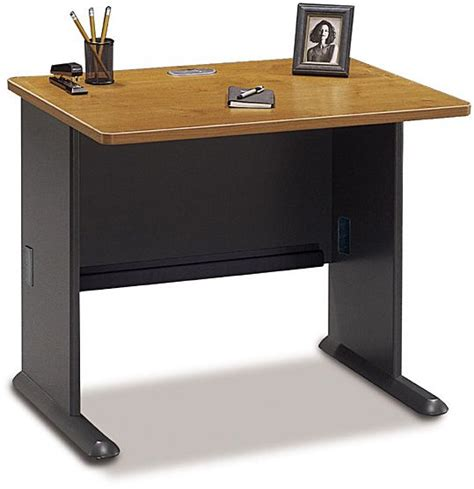 36 Inch Computer Desk Bush Wc57436 Computer Desk 36 Inch Advantage Cherry Sturdy Molded Abs With Steel