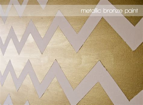 chevron template for painting diy gold chevron paintings jess lively