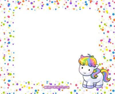 imagenes uñas unicornio marcos con unicornios marcos infantiles