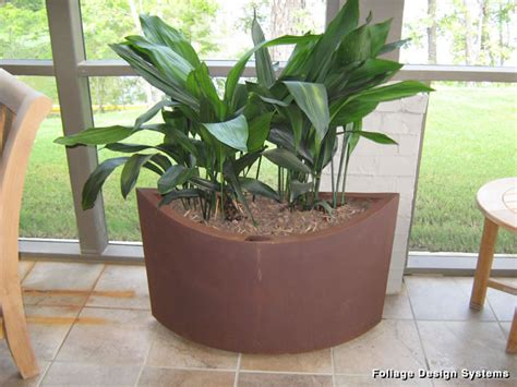 Eco Friendly Planters by Recycled Ellipse Metal Eco Friendly Planter