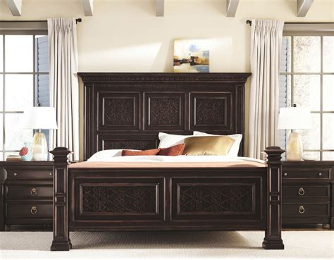 pacific bedroom furniture bernhardt pacific canyon panel bed mathis brothers furniture