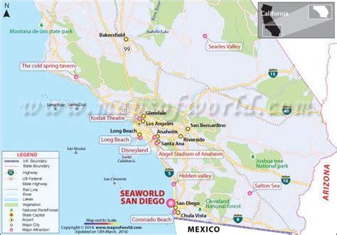 map world san diego seaworld san diego california usa map facts tickets