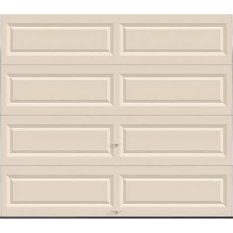 Clopay Value Series 8 Ft X 7 Ft Non Insulated Solid Insulated Garage Doors Home Depot