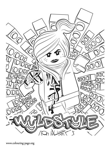 1000 Images About Kids Coloring Pages On Pinterest Lego Wyldstyle Coloring