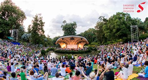 Botanic Gardens Singapore Events The Straits Times Concert In The Gardens Singapore Symphony Orchestra