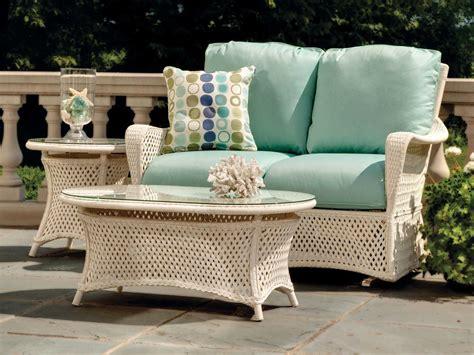 lloyd flanders patio furniture lloyd flanders grand traverse wicker 24 end table