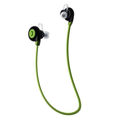 sport bluetooth earphone with microphone bt 108 green