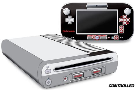 wii graphics are terrible system skin decal wrap for the nintendo wii u console and remote
