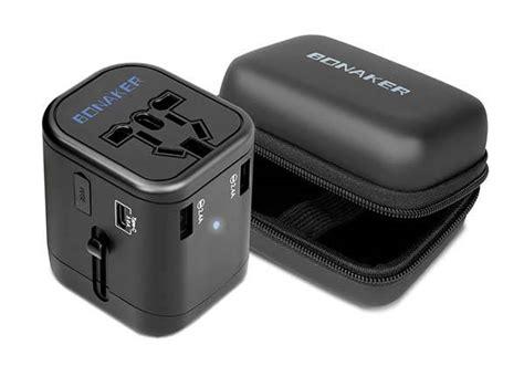 Universal Travel Adapter Jy 166b C 3 Usb 4 5a Plus Type C Port bonaker universal travel adapter with usb c usb ports and qc3 0 fast charging gadgetsin