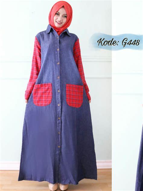 Nagita Salur gamis kombi square g448 baju style ootd