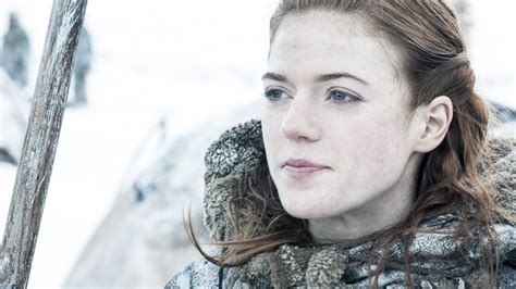 of thrones crush wednesday leslie rip ygritte