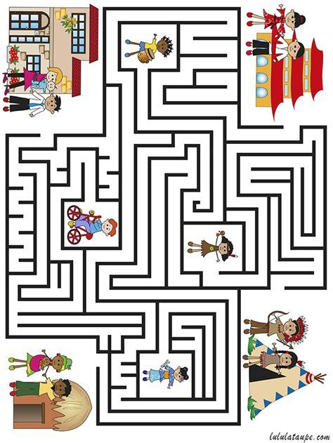 Labyrinthe Les Enfants Du Monde Lulu La Taupe Jeux