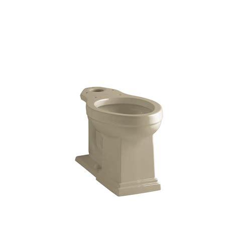 kohler elongated comfort height toilet kohler tresham comfort height elongated toilet bowl only