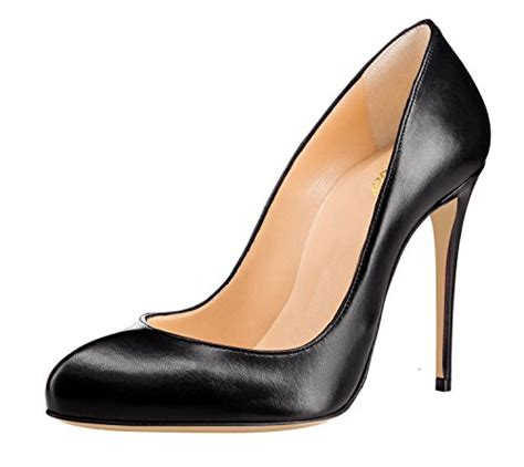 guoar womens stiletto toe high heels pumps v cut top prom dress shoes size 5 12 us