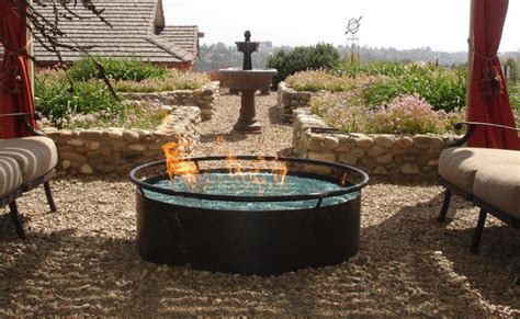 Backyard Gas Pit 21 Outdoor Pit Designs Ideas Design Trends