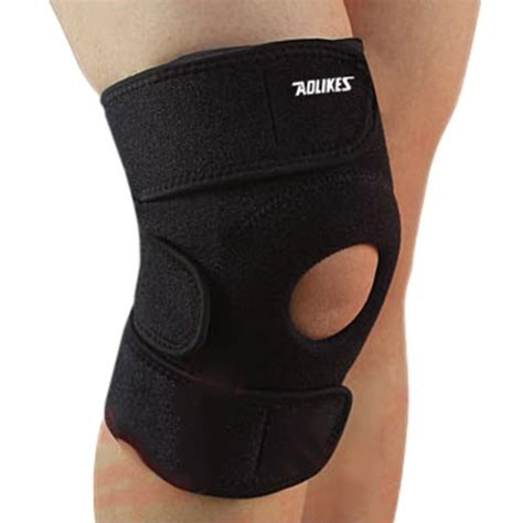 Ams Sport Knee Support Flypower elastic brace kneepad adjustable patella knee pads knee support brace safety guard for