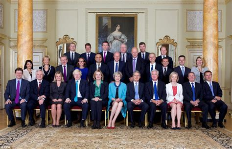 theresa may s cabinet photo features seven women compared