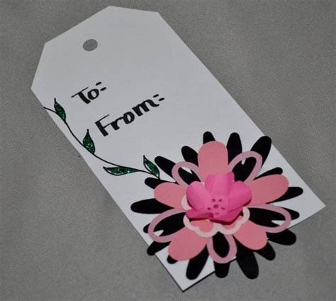 Handmade Gift Tags Ideas - handmade mothers day gift tags for family