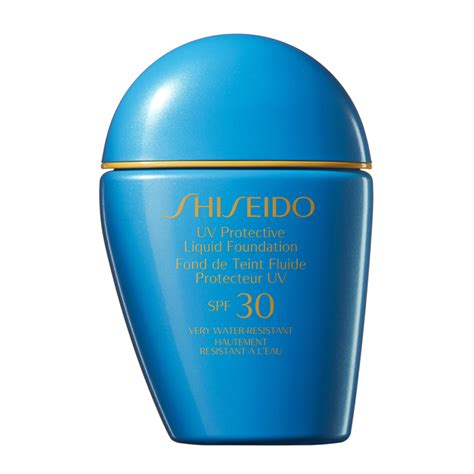Shiseido Liquid Foundation shiseido uv protective liquid foundation spf 30 30ml