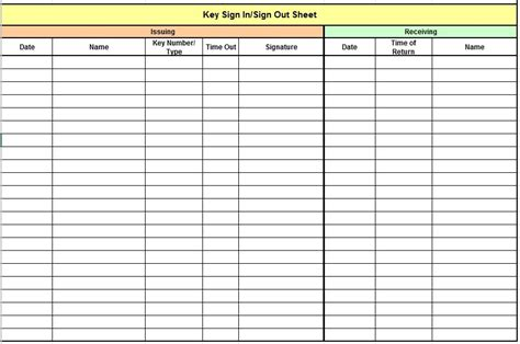 9 free sle child care sign in sheet templates