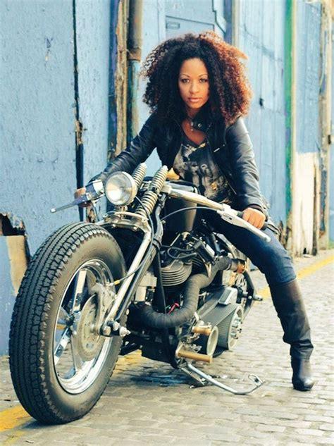 lady biker hairstyles lady biker hairstyles black women on motorcycles