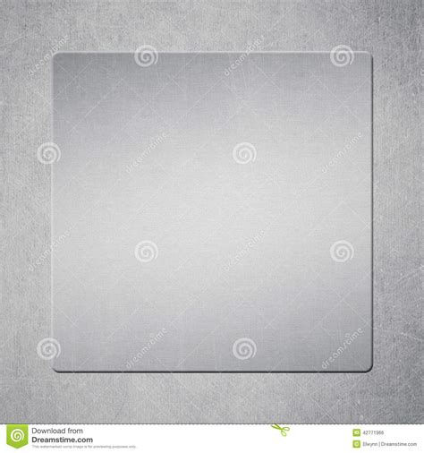 metal template metal template stock illustration image 42771966