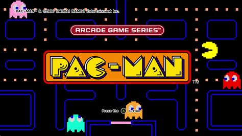 pacman screen arcade series pac review the pac is back on