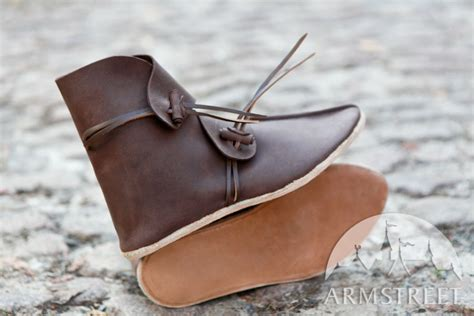 Handmade Leather Boots Renaissance - handmade age leather shoes boots for sale