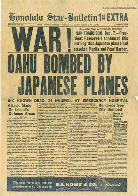 japan news japan facts latest news the new york times day of infamy the pearl harbor attack gt national museum