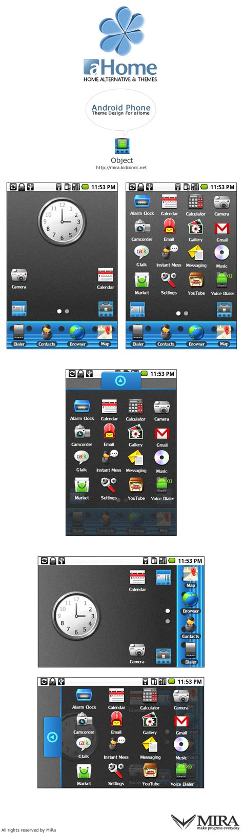 drawing themes for mobile phones android phone theme design by silencemira on deviantart
