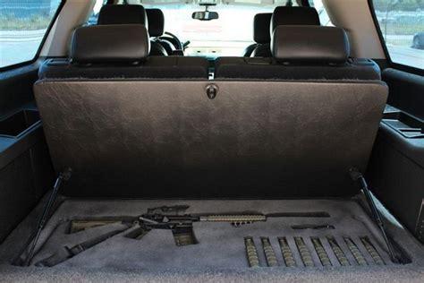 car seat gun safe secret gun compartment incar stashvault