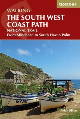 south west coast path map booklet plymouth to poole 1 25 000 os route mapping south west coast path