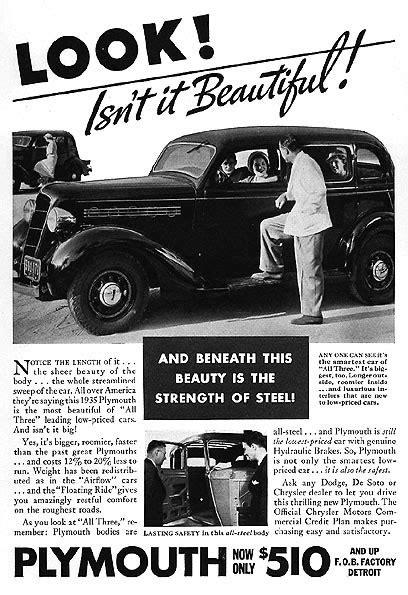 Carros y Clasicos - Plymouth 1935