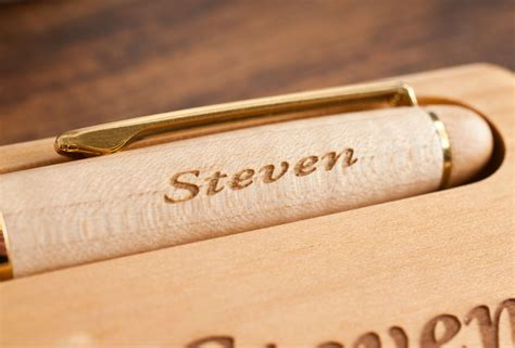 desk pen sets engraved engraved wooden desk set pen engraved gifts