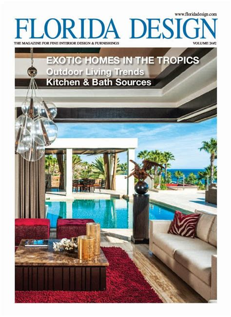 home design magazine florida dorya interiors florida design magazine features trump