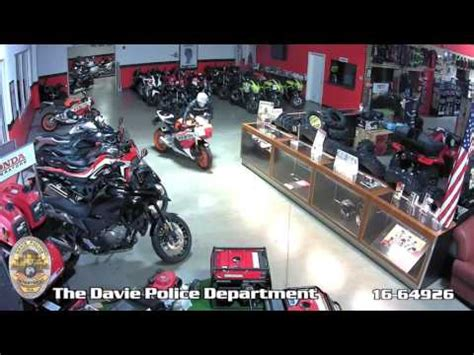 rick honda powersports motorcycle burglary