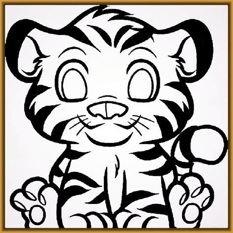 imagenes infantiles tigres dibujos infantiles de tigres para colorear archivos