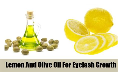 Lemon And Olive Detox by 4 Home Remedies For Eyelash Growth Way For