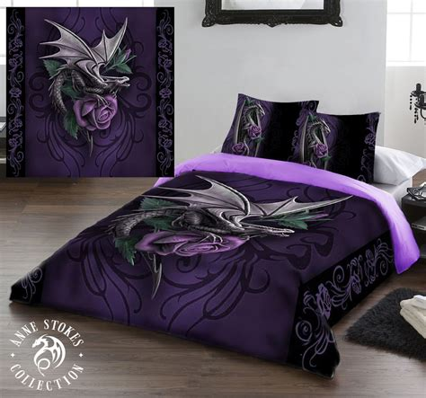 dragon bed set anne stokes dragon beauty duvet cover set available in