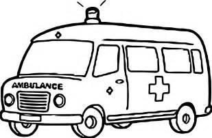 ambulance coloring pages ambulance coloring page wecoloringpage