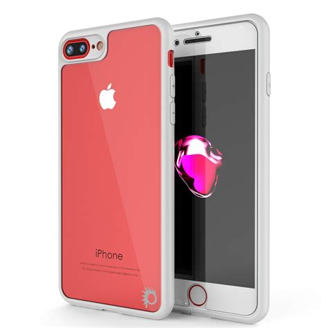 iphone 7 plus punkcase mask series white hybrid d