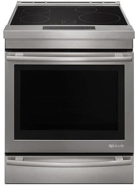 induction stove jenn air jenn air 30 quot stainless steel induction range jis1450ds