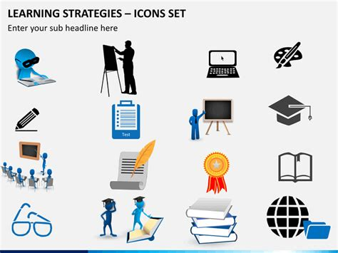 learning strategy template learning strategies powerpoint template sketchbubble