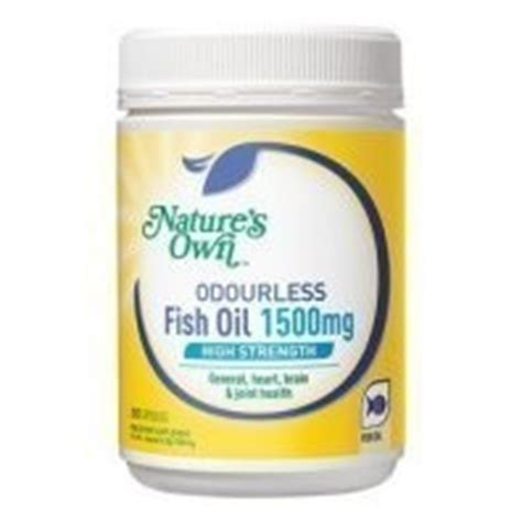 Diskon Nature S Own Odourless Fish 1500mg 200 Kapsul natures own h s fish capsules