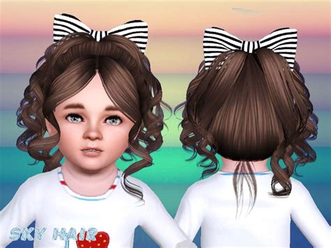 sims 3 toddler hair skysims hair toddler jiolu 245