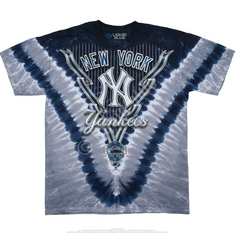 Yankees Shirt By Yankees Shirt mlb new york yankees v tie dye t shirt liquid blue