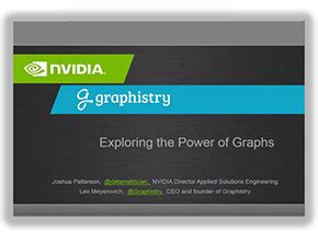 explore the power of graph analytics for security nvidia