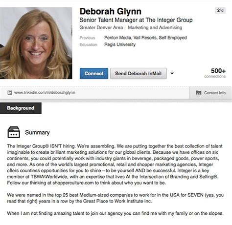 Top Mba Candidate Linkedin by 4 Worthy Linkedin Profiles And Why We Them