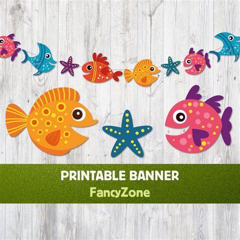 printable fish banner best 25 fish banner ideas on pinterest
