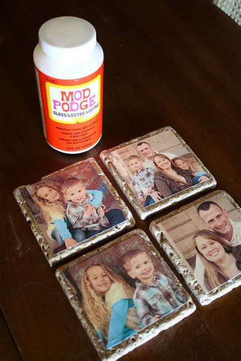 How To Make Coasters Out Of Paper - cool and easy diy mod podge crafts hative